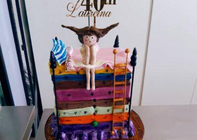Princess and the pea cake
