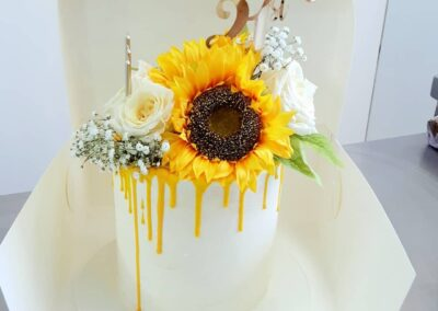 Tall Sunflower Drizzle