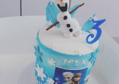 Frozen Isla Tall Cake