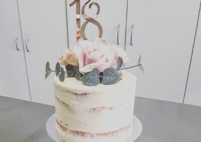 18 Nude Cake