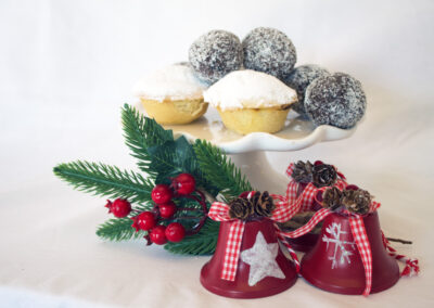 Mince pies and rum balls